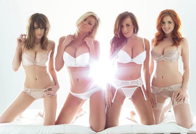 Danielle Sharp, Leah Francis, Stacey Poole y Lucy V Collett el blog del erotismo